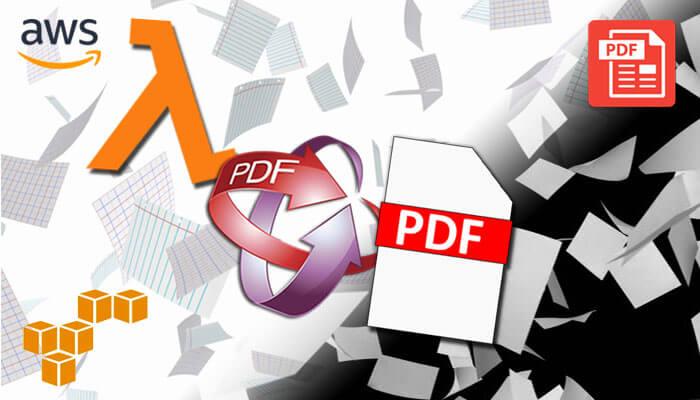 Generate PDF using AWS lambda and SAM local | iSummation - USA