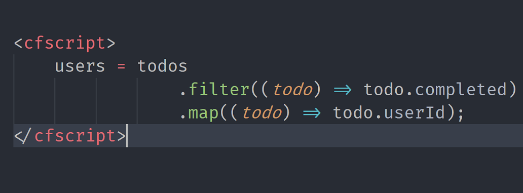 Functional Programming in CFML