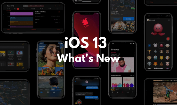Whats New in iOS 13 - Features of iOS 13 - iSummation Technologies
